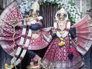 Iskcon Bangalore Radha Krishnachandra Deity Daily Darshan